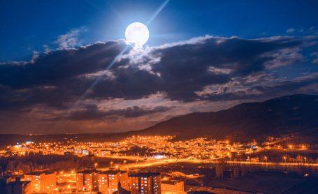 İlçemizden Gece Manzaraları